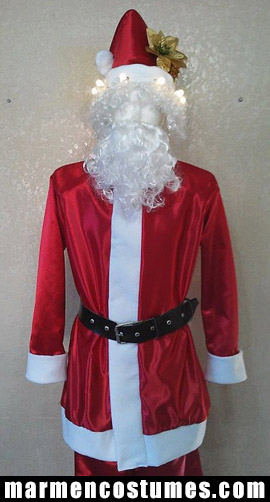 Stilt walker costume christmas santa claus