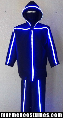 Stilt walker costume TRON